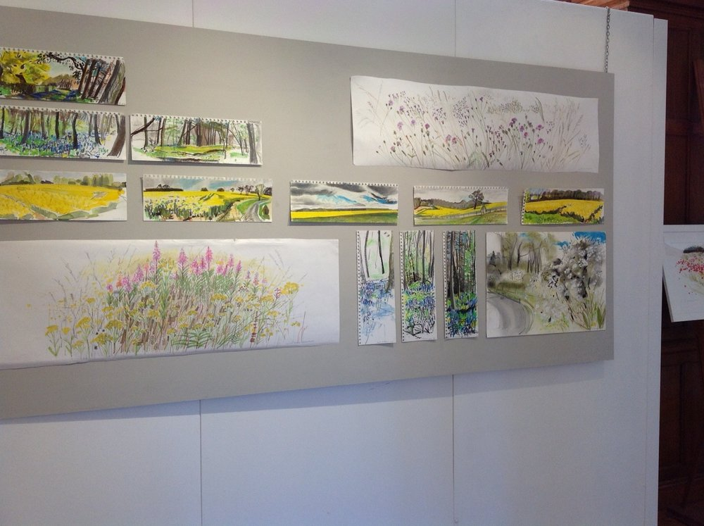 Jane Hindmarch - Rapeseed Sketches - Walcot and Clipsham
