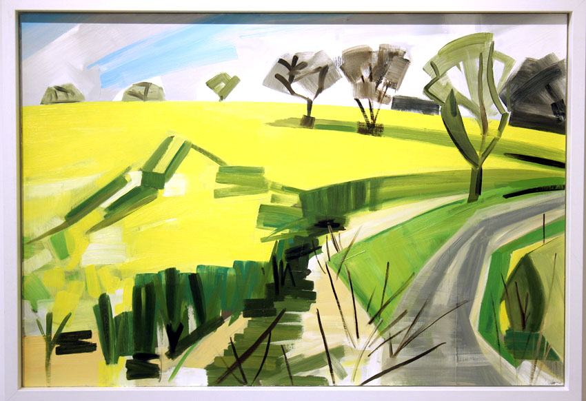 Rutland Rapeseed Field: Jane Hindmarch
