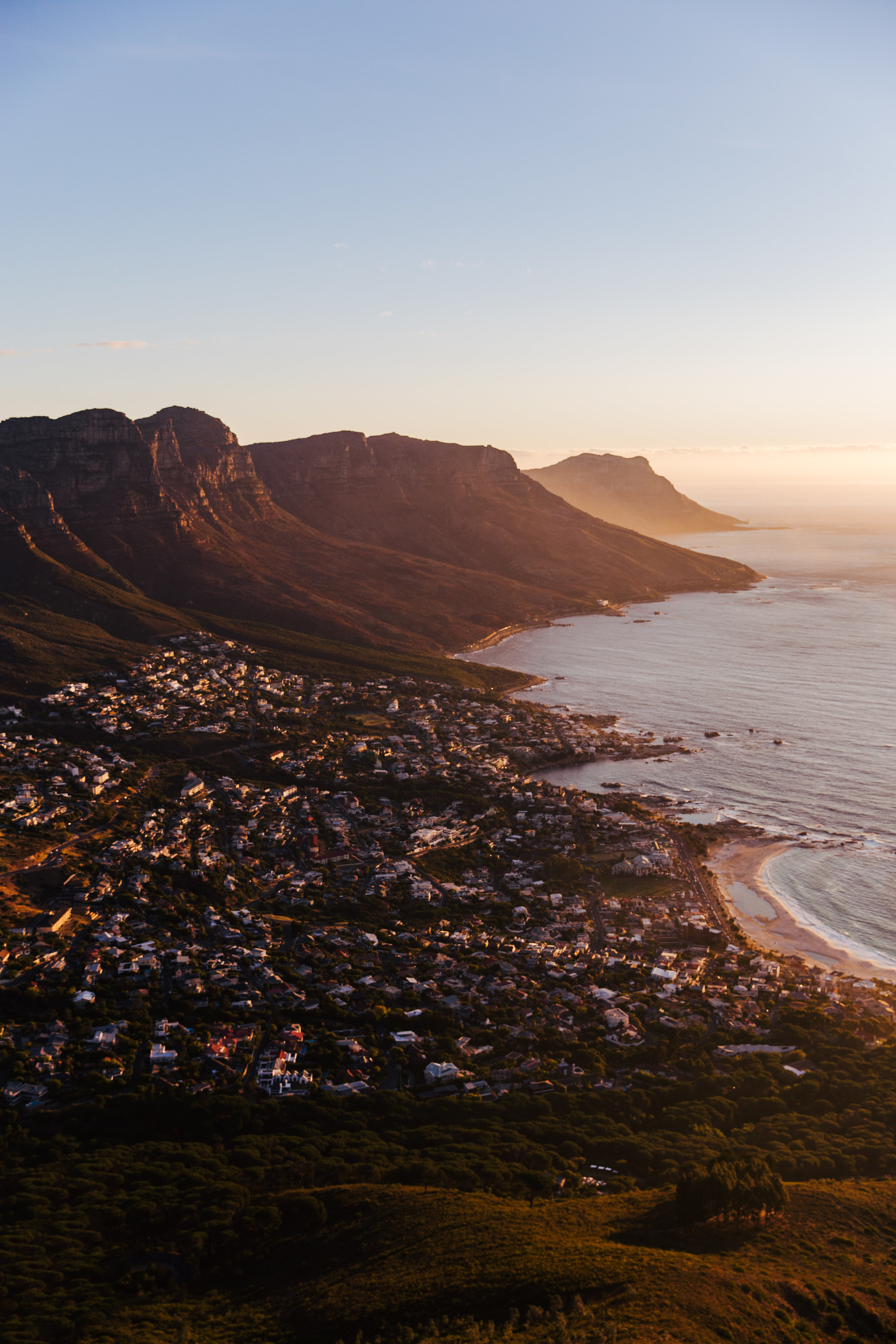 8fa93dcec6 Sunset over Cape Town — clairemenary.com
