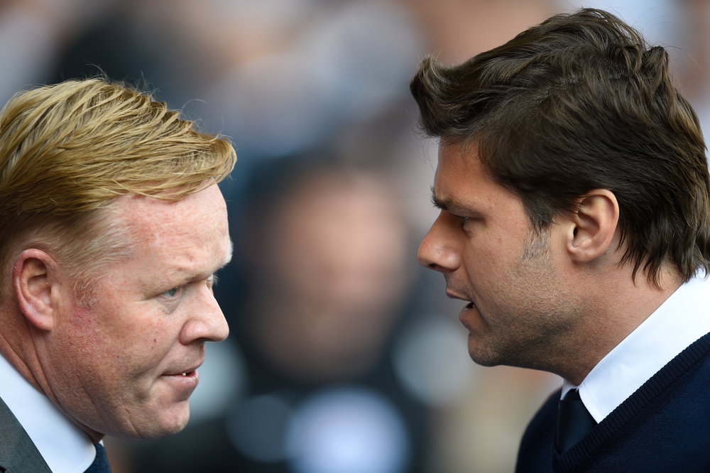 Ronald Koeman and Mauricio Pochettino: the architects of Southampton's rise.