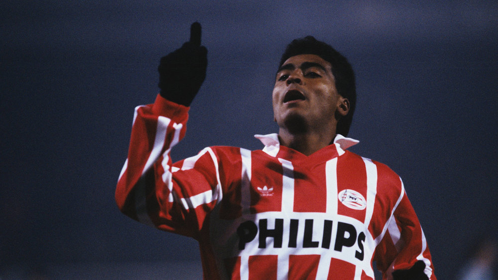 Romario, perhaps the greatest of all anonymous strikers, scored 309 goals in 448 career games.