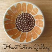 Heart Stone Gallery: handcrafted pottery inspired by nature