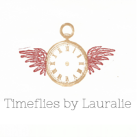 Timeflies by Lauralie : mixed media with a vintage flair