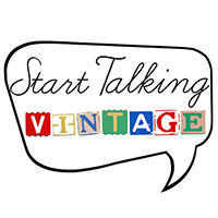 Start Talking Vintage: midcentury home decor & vintage ABC blocks