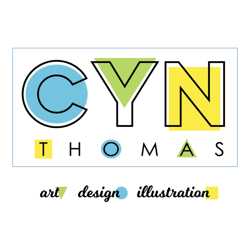 Cyn Thomas Design :  Branding and Graphics  Cyn Thomas provides brand identities by working together with creative entrepreneurs to visually represent the heart and soul of each maker/artisan's business.  Through logo and packaging design, makers and artisans can feel confident that their branding represents their distinctive point of view.