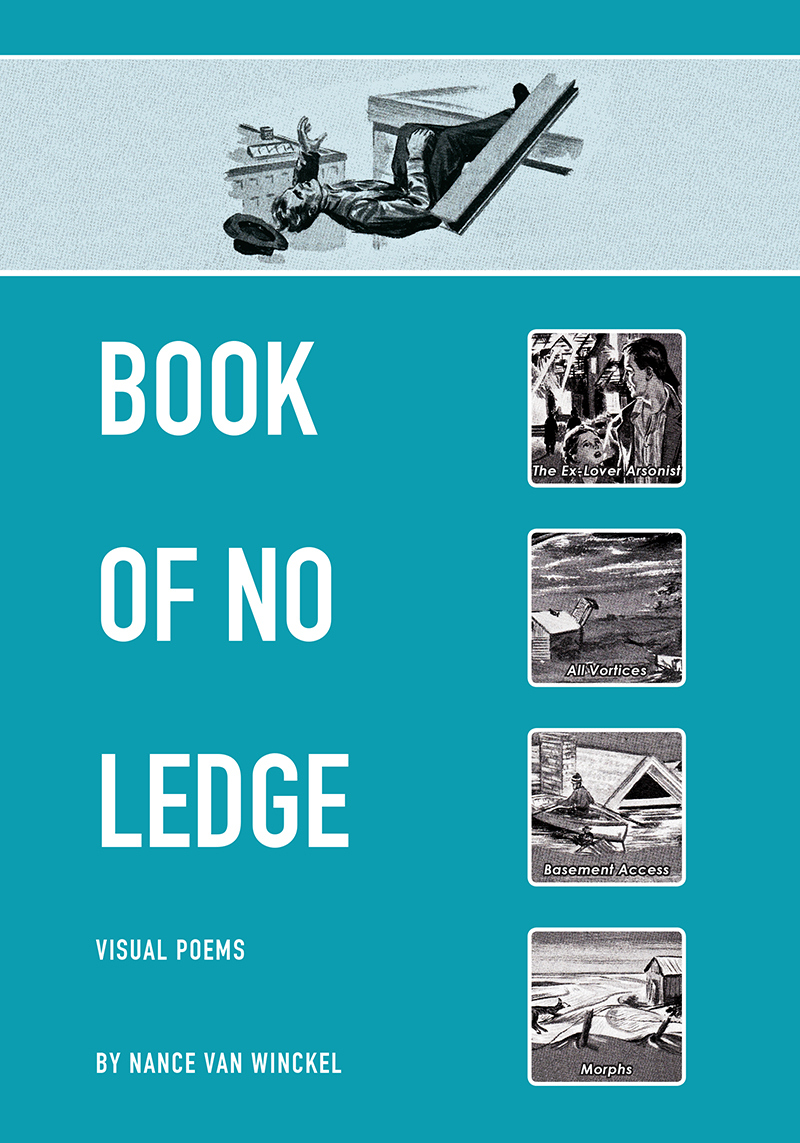 Pleiades Press,  Book of No Ledge , Cover Design
