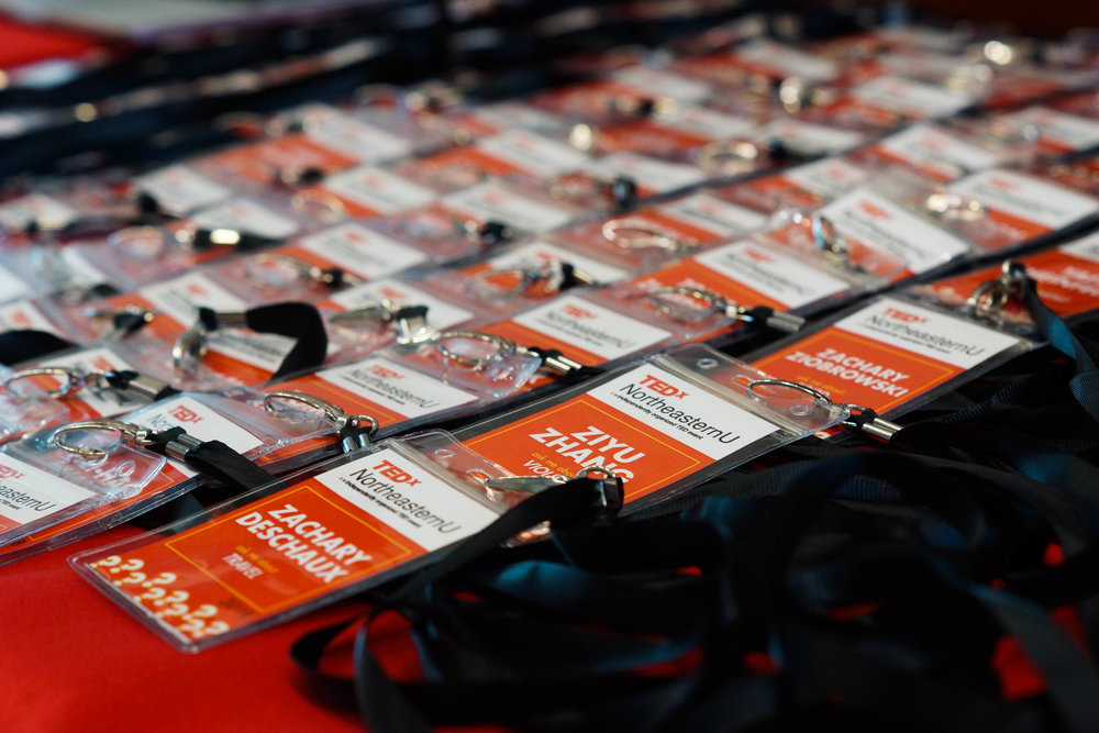personalized attendee badges