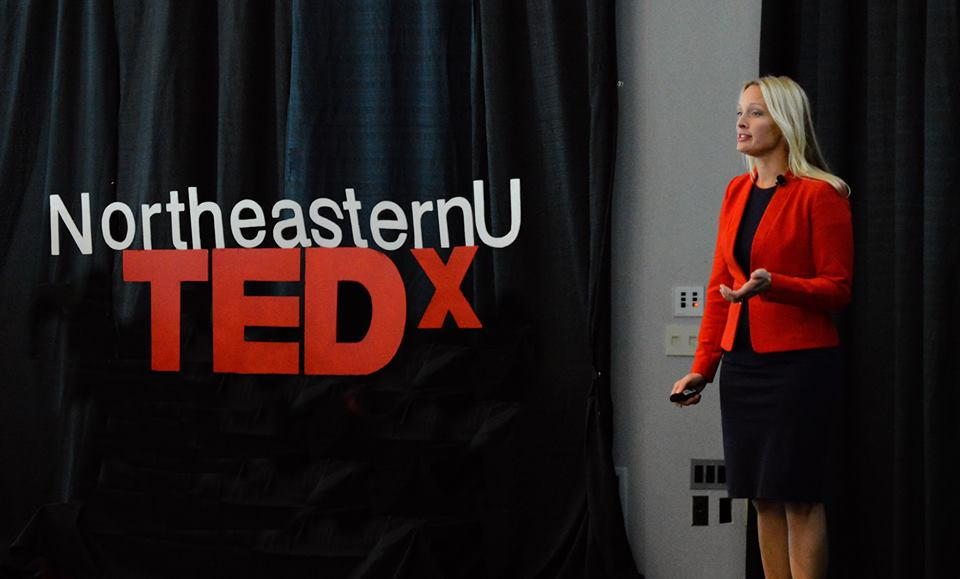 TEDxNortheasternU 2018 speaker Rebecca Love went on to inspire at TEDxBeaconStreet.