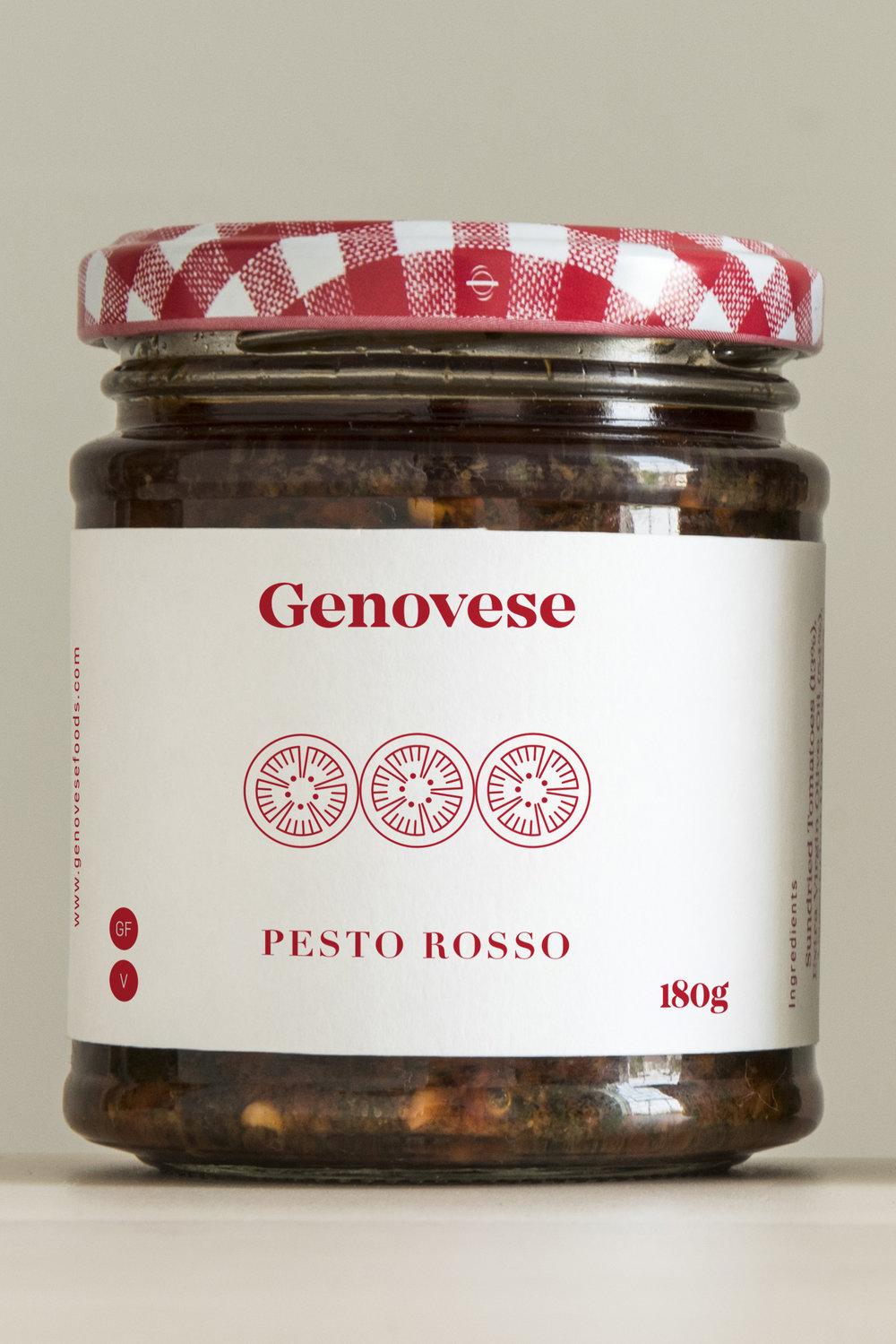 Genovese Pesto Rosso