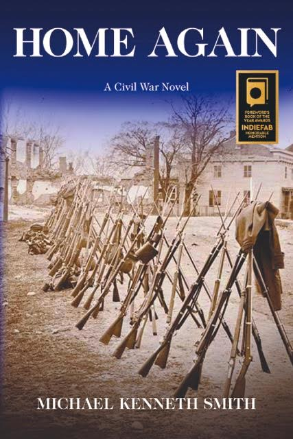 Michael K. Smith  used his expertise as a Civil War buff to fashion  HOME AGAIN,  a tale of two teenagers on different sides of battle.  Read about his experience in our workshop at  Quivering Pen .
