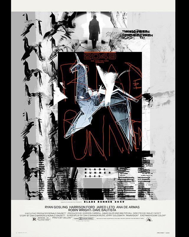 2017 — BR2049 . . . . . . #graphicdesign #design #poster #c4d #octane #cgi #motiondesign #illustration #bladerunner #blaster #deckard #mdcommunity #bladerunner #bladerunner2049 #posterreposter #print #printisnotdead #thedesignblacklist #selectedwork #printisntdead #mdcommunity