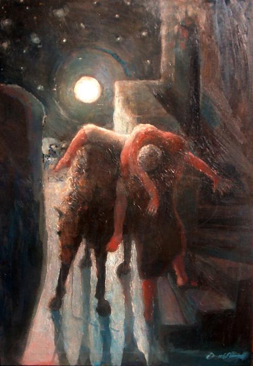 The Moon and the Samaritan by Daniel Bonnell