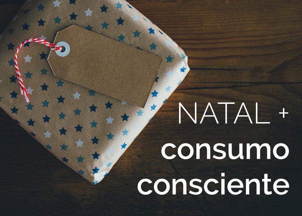 natal e consumo consciente