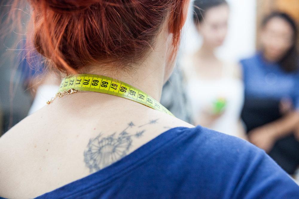 Foto da maravilhosa Andrea de Lima pro projeto Memorias Vestidas.