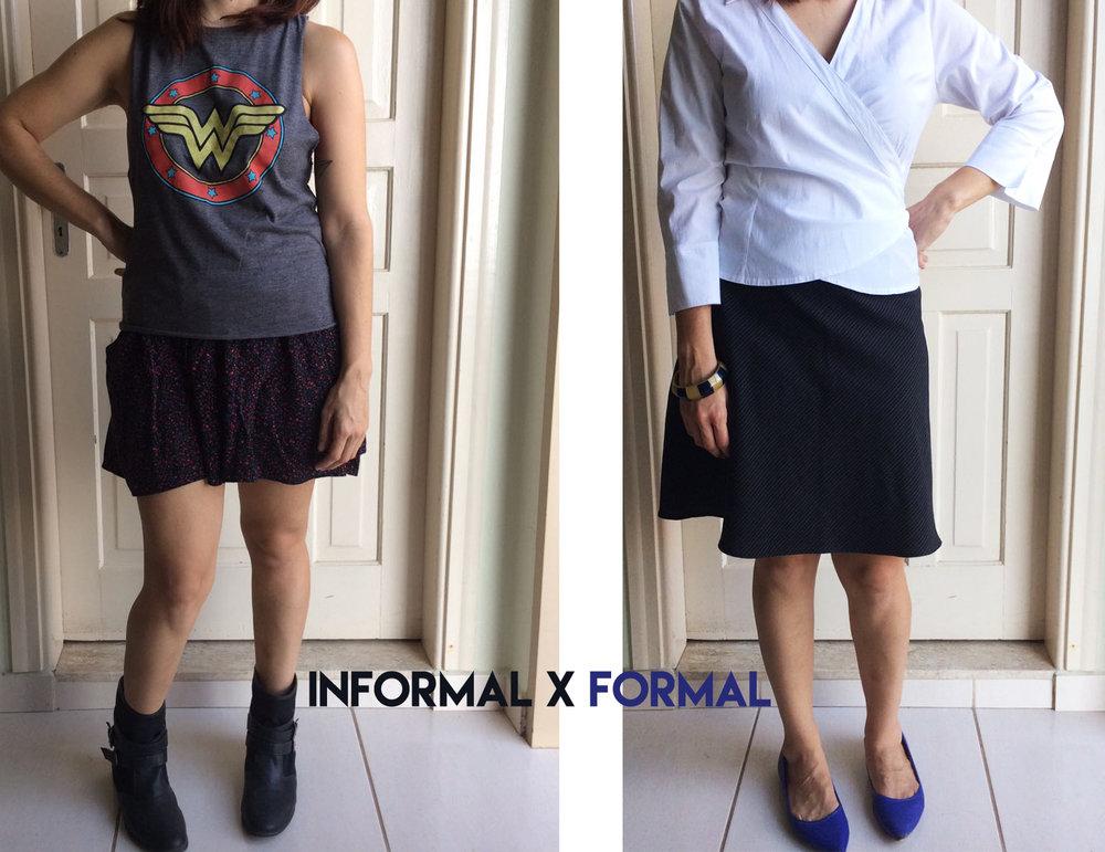 formal x informal