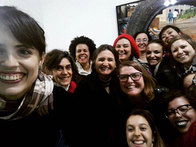 Aquela quase selfie espremendo todas essas lindas após o encontro de ontem sobre #economiacriativa!