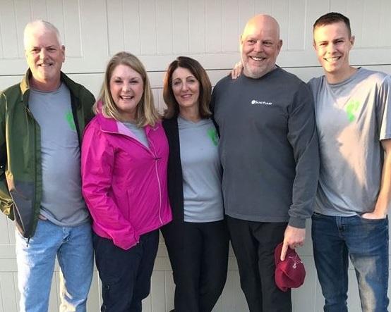 Steve & Sondra Maladron (Steve is the Board Chairman), Tracy & Jay Arntzen (Co-Founders), Adam Reiley (Operations Manager)