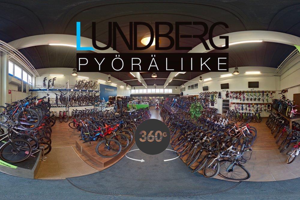 Klikkaa itsesi Pyöräliike Lundbergin virtuaalikierrokselle