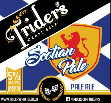 Scotian Pale Ale - Rolling Hills, crashing waves, and Craft Beer galore: This Scotian Pale Ale is as Scotian as the come! Expect moderate bitterness thanks to our local Cascade Hops and a slight malty flavour. Our take on an English Pale Ale pairs well with Donairs, Fish and Chips, and Hodge Podge. Now grab your bagpipes and kilt, and enjoy one of Nova Scotia's hidden gems. Mr Rolfe's #1 recommendation!