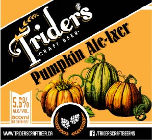 Pumpkin Ale-Ixer - Harvest moon has come to pass, crush the barley, mix the mash. In the cauldron, boil and bubble, pumpkin smash with hops of fuggle.Witch's wort with added spice, a splash of yeast to give it life! We present to you this sacred gourd, Pumpkin Ale-ixir, freshly poured!Hand roasted pumpkins with just the right amount of brown sugar; you'll find no canned purees here. Our traditional pumpkin ale uses only this year's harvest and a secret blend of fresh organic spices. Cheers to Samhain!