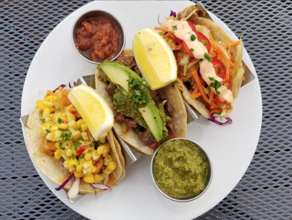 Tacos Tacos Tacos!  Choice of Sriracha Shrimp, Cauliflower, Steak or MIX!  (Photo: ashlandhill.com)