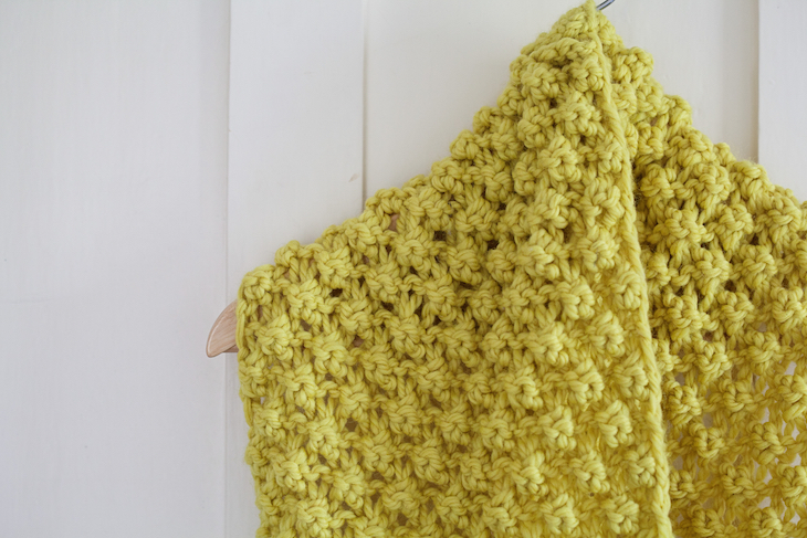 Knitting Pattern Chunky Bramble Snood Bless The Weather