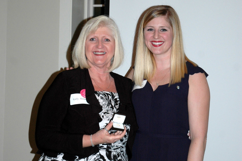 IIKE Award: Kathy Beeman with daughter Lauren Beeman Harwell