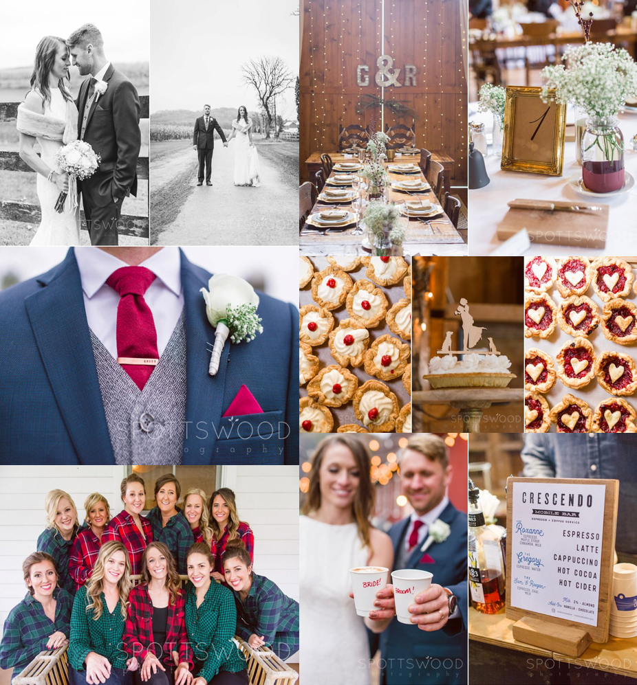 Gruber Wedding Collage