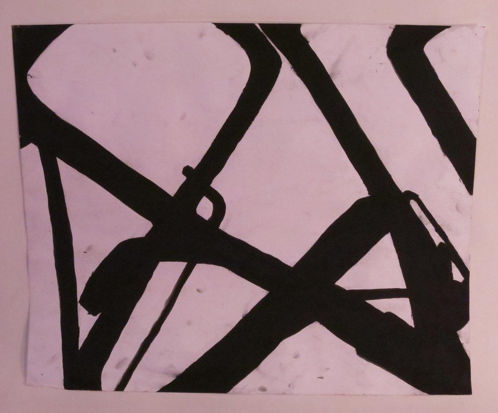 Allen Keys - Charcoal paint