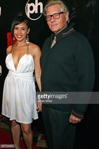 Carmen Perez with William Forsythe (Getty Images)