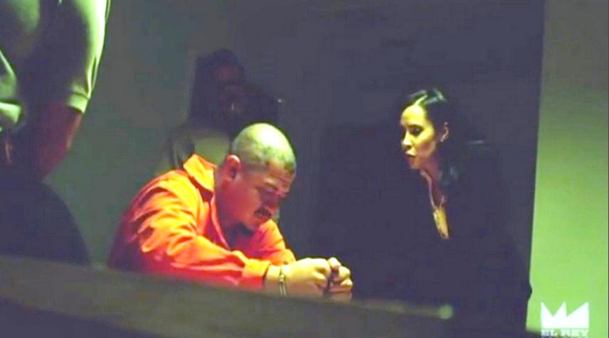 "Carmen Perez as Captain Vasquez - ""Lucha Underground"" (El Rey Network)"