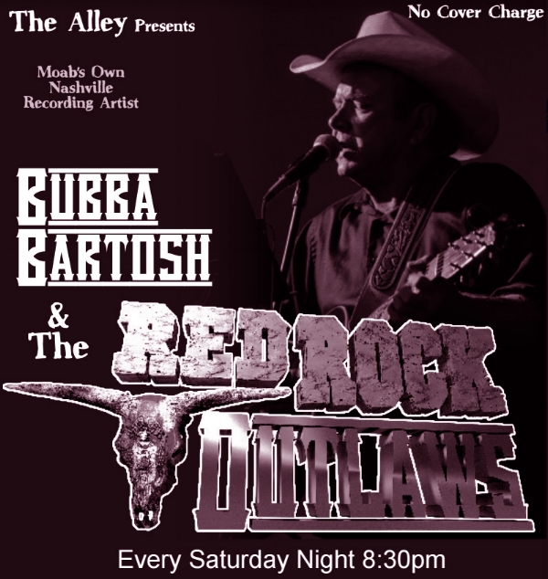 bubba bartosh live at the alley