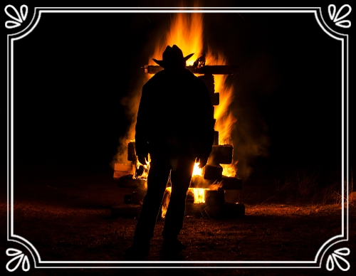 Robert Bubba Bartosh winter Solstice 2016 Bartosh Annual Bonfire