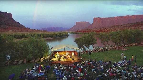 We have some awesome music venues here in Moab. Many movies have been filmed in this valley along the Colorado river over the years.