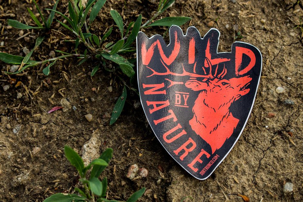 Wild By Nature_Sticker