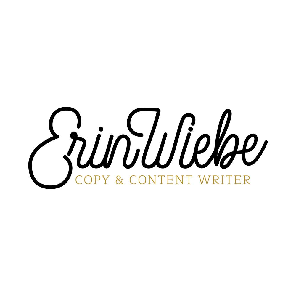 Erin Wiebe Copywriter