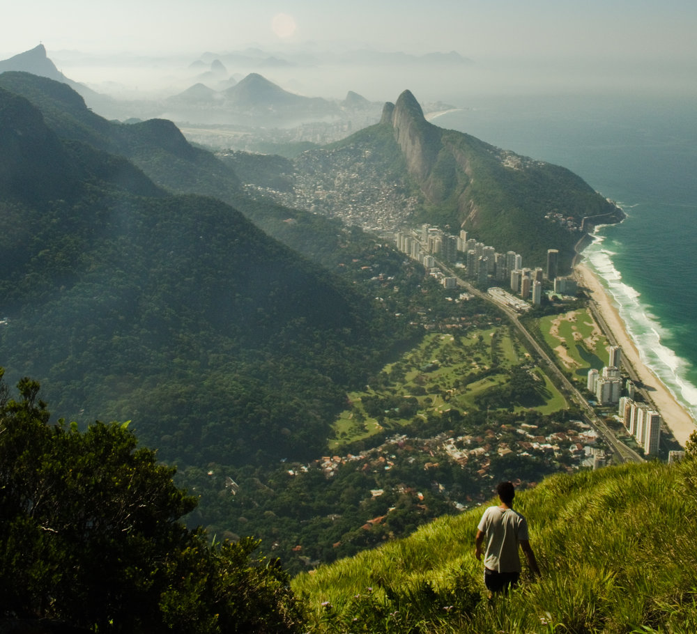 The view from Gavea