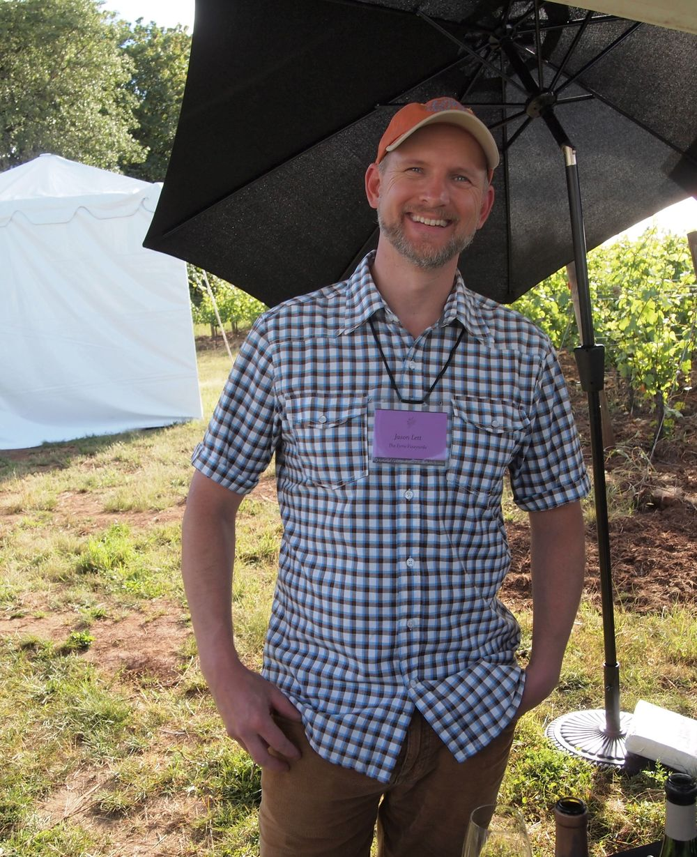 Jason Lett, of Eyrie Vineyards.