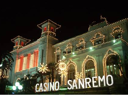 The competition was held in the Casino in San Remo, Liguria