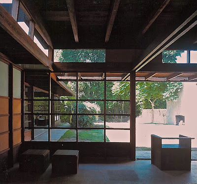 The uniquely low-ceilinged frame.   Source: Patricia Kucker,  Journal of Architecture, Volume 7, Summer 2002.