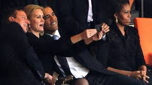 'Barack Obama selfie with Danish Prime Minister'
