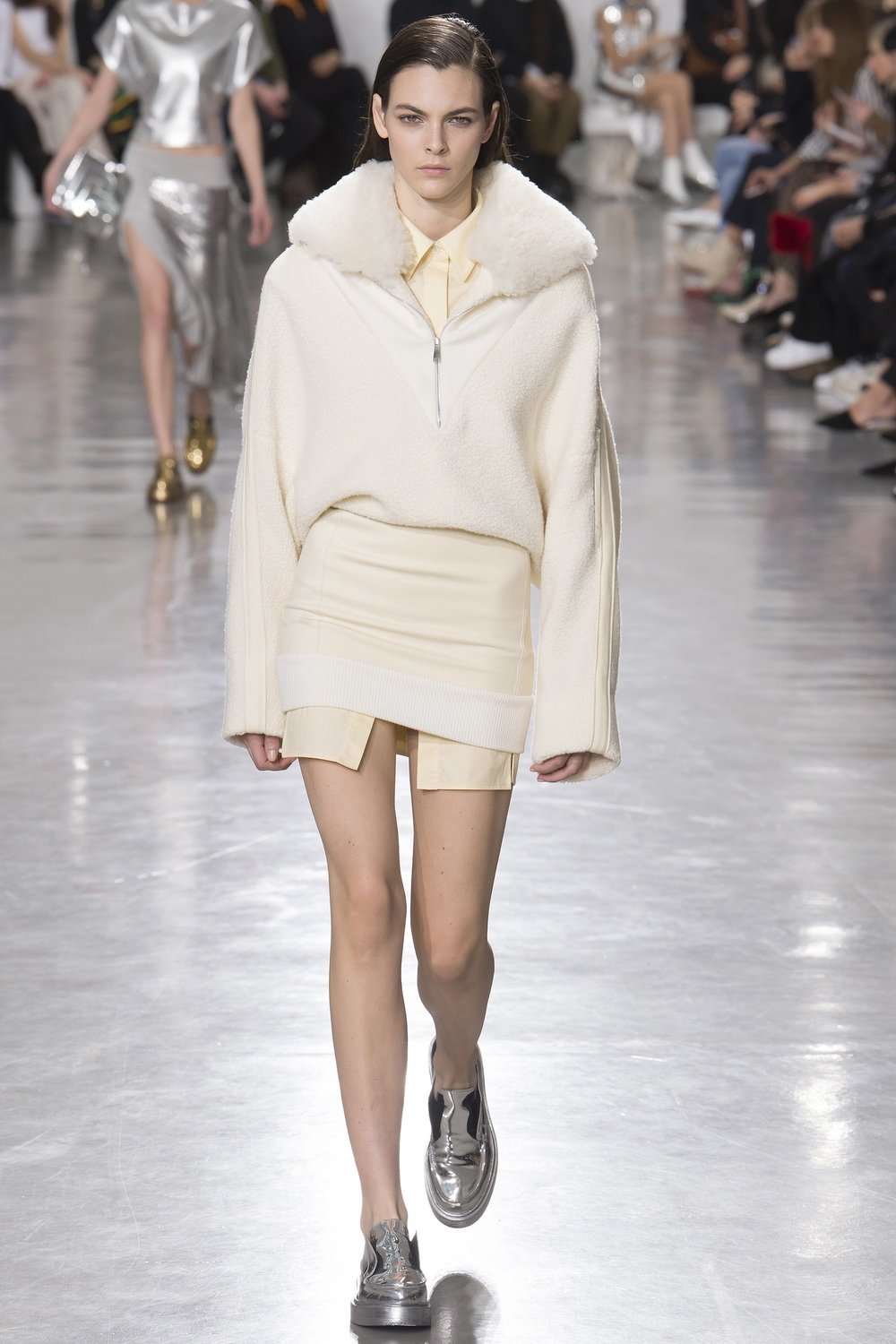 The perfect blend of cozy, dressy, casual, and unusual - with a side of marshmallow.  Paco Rabanne, Courtesy of Vogue.