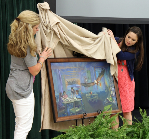 Memorial Painting - Brenham Middle School