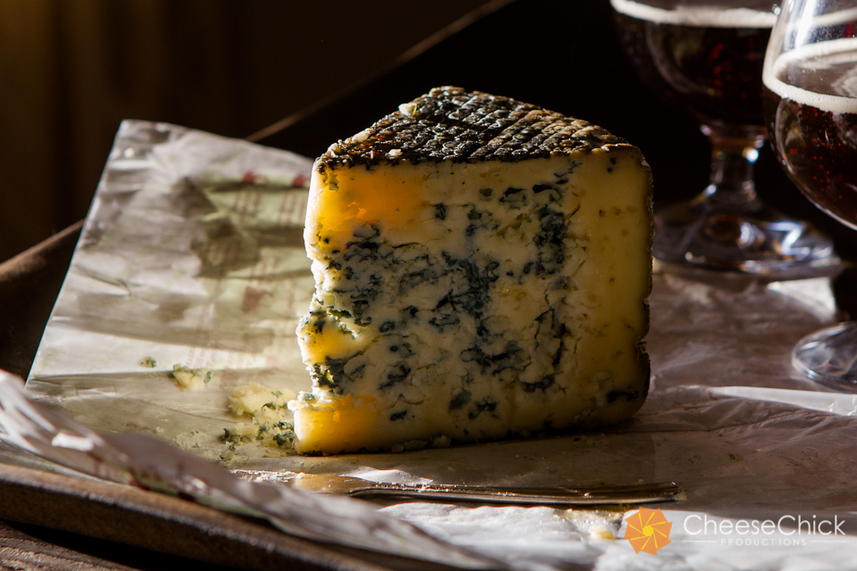 Birchrun Blue ~ raw cow's milk ~ A creamy, delicately flavored blue with a fudgy texture with sweet and peppery notes. Birchrun's flagship cheese, with the power to convert a shy taster or wow a seasoned Roquefort-lover. Pairs well with dark honey, candied nuts, and dark, sweet beers.