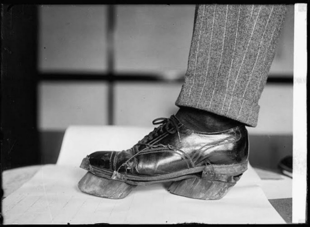 Black patrons were denied a quality retail shopping experience when they were not allowed to try on shoes and clothing for perfect fit before purchase; they had to trace their feet in an attempt to estimate the right size for their desired shoes.