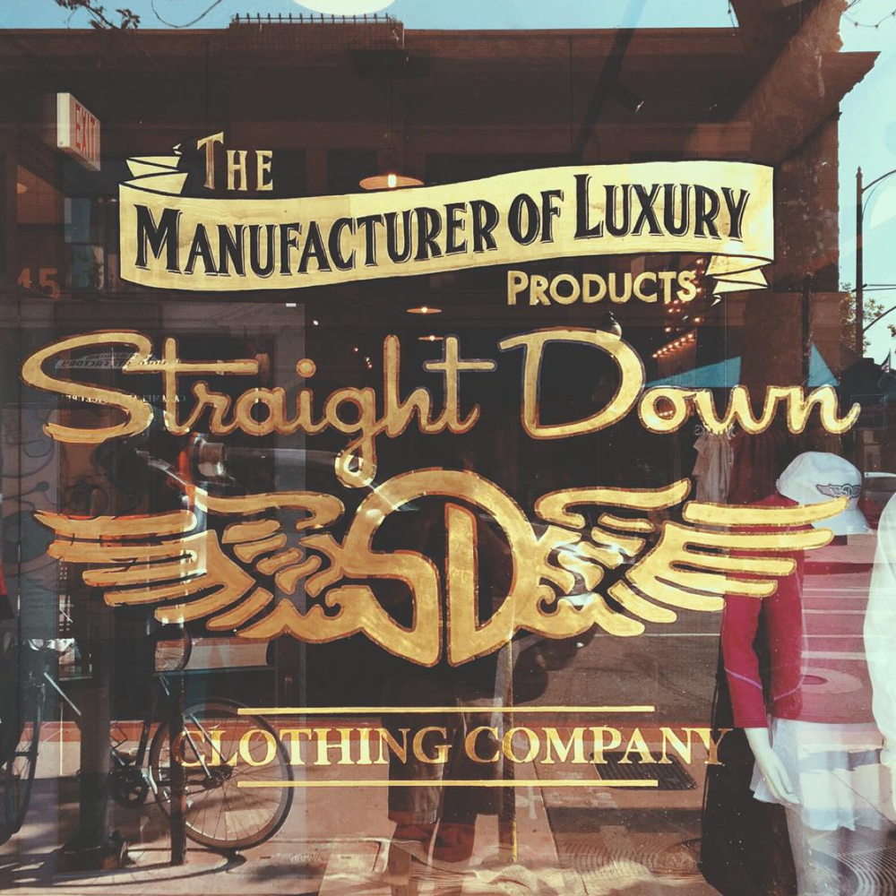 Straight Down Clothing Company    San Luis Obispo, CA
