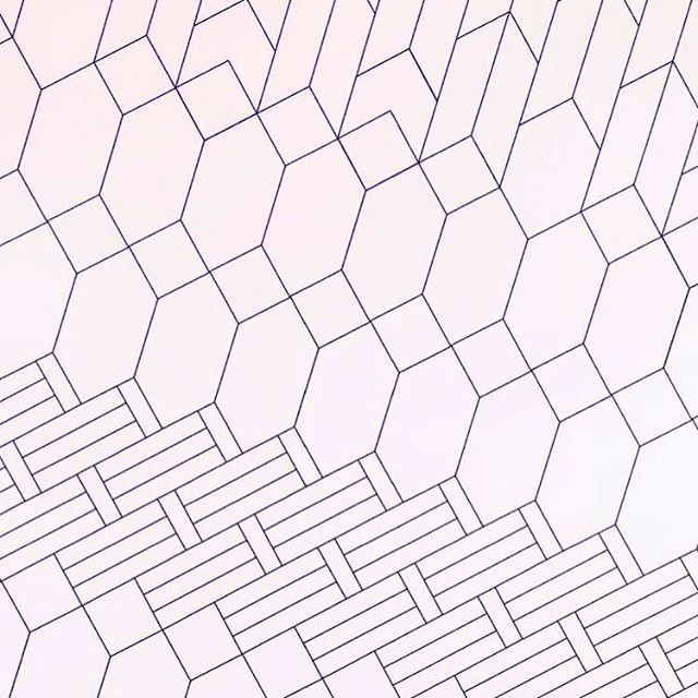 🔮 #purple #polygon #patterns