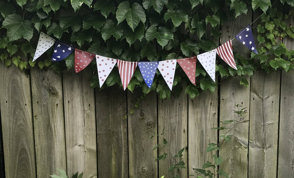 - free 4th of july banner printout