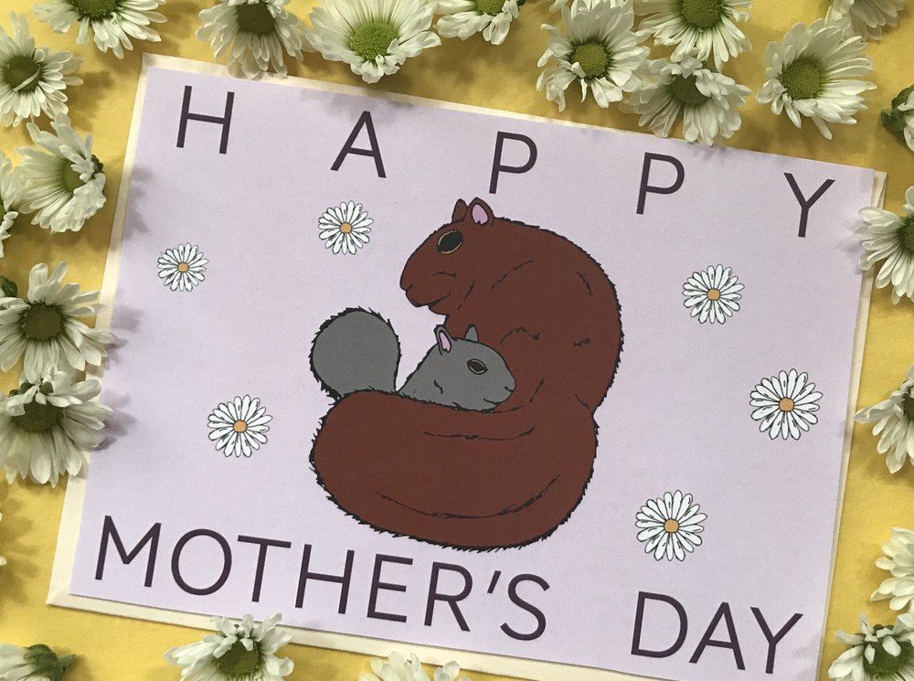 - free mother's day card printout