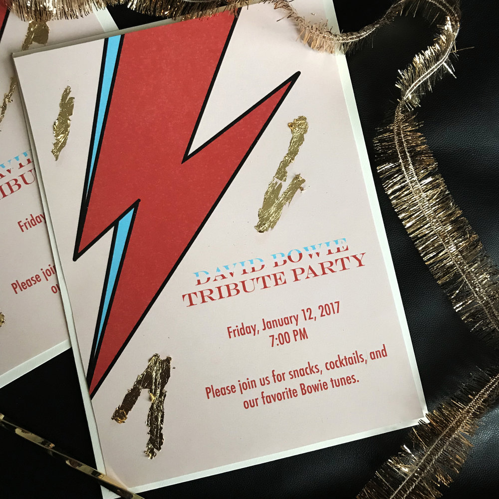 ch-ch-ch-changes! - free download: bowie tribute party invitation